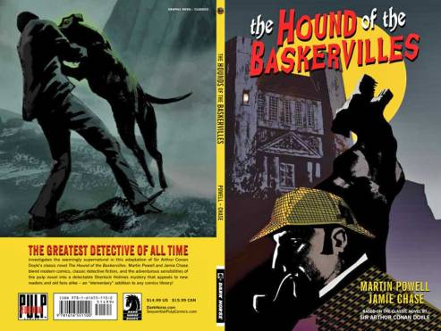 Hound of the Baskervilles cover, Jamie Chase, Dark Horse Comics