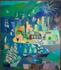 Untitled (Port Scene), John McHugh, Matthews Gallery