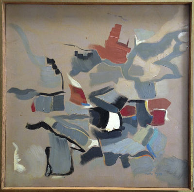 Untitled (Abstraction), John McHugh, Matthews Gallery