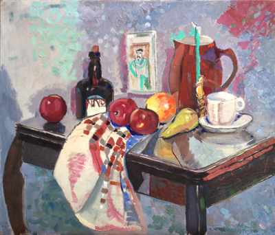 Untitled (Still Life with Fruit), John McHugh, Matthews Gallery