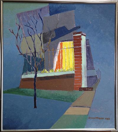 Untitled (Exterior), John McHugh, Matthews Gallery