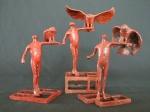 """""""Avian Keepers 1-3"""", Robert W. Hinds, Matthews Gallery"""