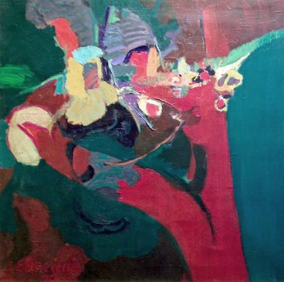 """Alic"", Enrique Echeverria, Matthews Gallery"