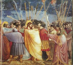 "Giotto, ""The Kiss of Judas"""