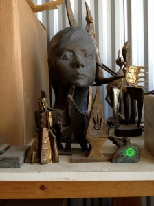 Sculptures by Hannah Holliday Stewart, Matthews Gallery