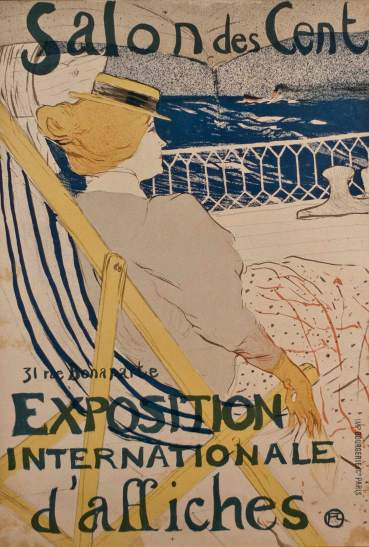 Henri de Toulouse-Lautrec- La Passagere du 54- Matthews Gallery auction