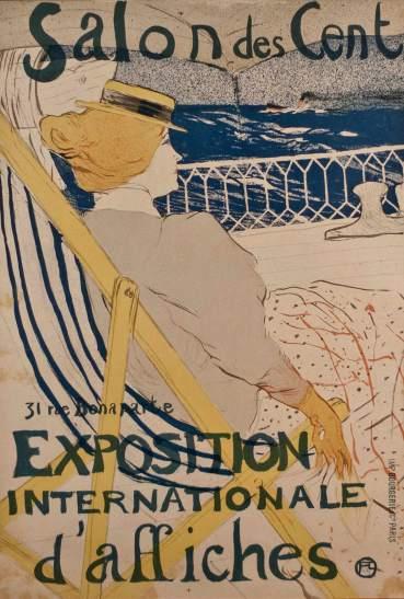 Henri de Toulouse-Lautrec- La Passagere du 54- Matthews Gallery auction