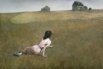 Andrew Wyeth- Christina's World- Matthews Gallery blog