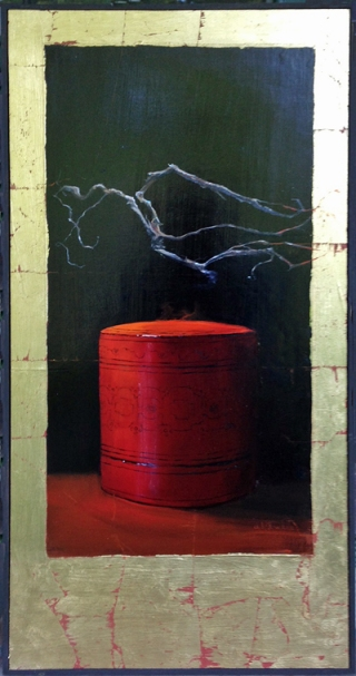 Spirit of the Red Box, Diane White, Matthews Gallery