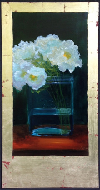 White Ruffled Tulips, Diane White, Magical Realism