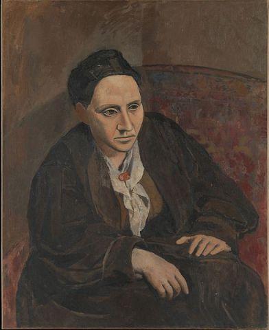 Portrait of Gertrude Stein, Pablo Picasso, Matthews Gallery blog