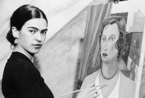 Frida Kahlo- Ten Women Who Changed Art History- Matthews Gallery blog