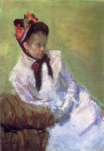 Self portrait, Mary Cassatt, Matthews Gallery blog