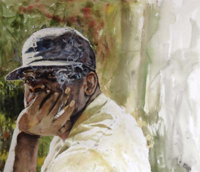 Pondering, Eric G. Thompson, Matthews Gallery