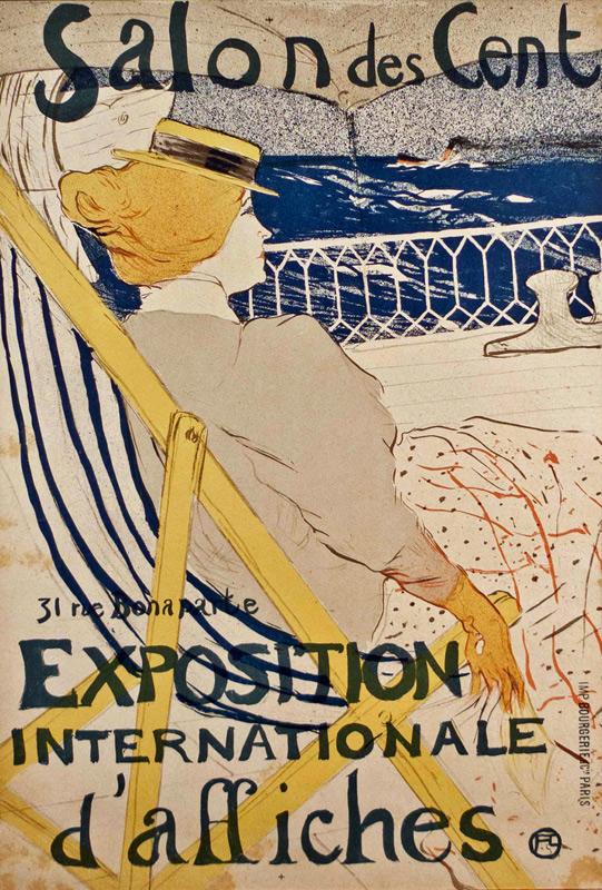 Henri de Toulouse-Lautrec- La Passagere du 54- Matthews Gallery