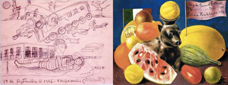 "Early and Late Works: Frida Kahlo's ""The Accident"" (1926) and ""Still Life"" (1951)"