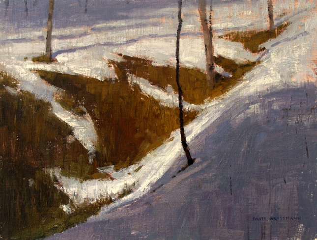 David Grossmann- Snow Rhythms- Matthews Gallery