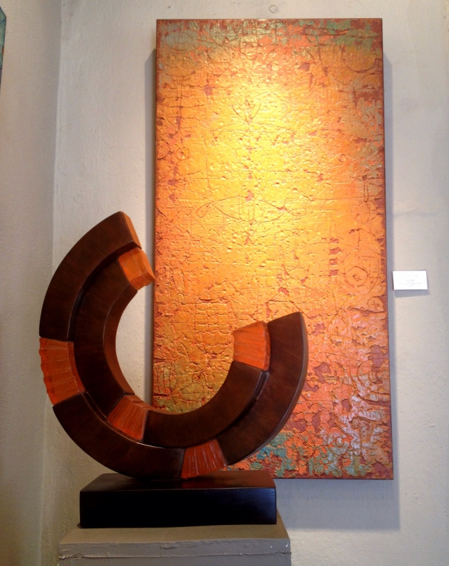 Sculpture by Frank Morbillo, Painting by Terry Craig
