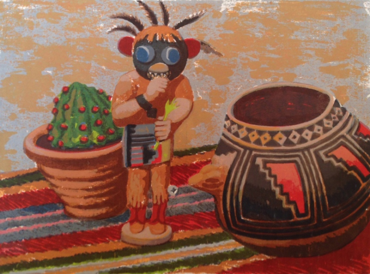 Ed Levin- Kachina- Artfact Auctions