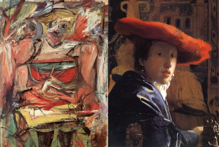 Vermeer and de Kooning - Matthews Gallery blog