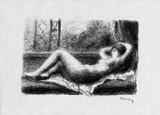 Pierre Auguste Renoir - Odalisque - Matthews Gallery