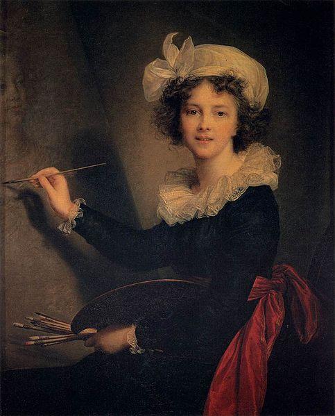 Elisabeth Vigee Le Brun- Self Portrait- Matthews Gallery