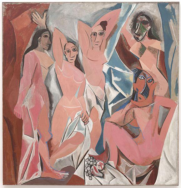 Pablo Picasso- Les Demoiselles dAvignon- Matthews Gallery blog