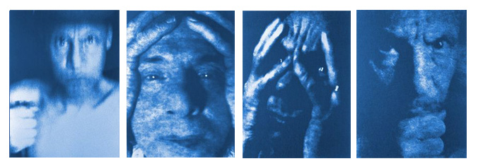 Jan Van Leeuwen- Cyanotype Portraits- Matthews Gallery Blog