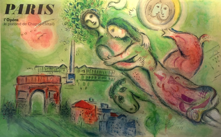 Marc Chagall- Paris L'Opera- Matthews Gallery Blog