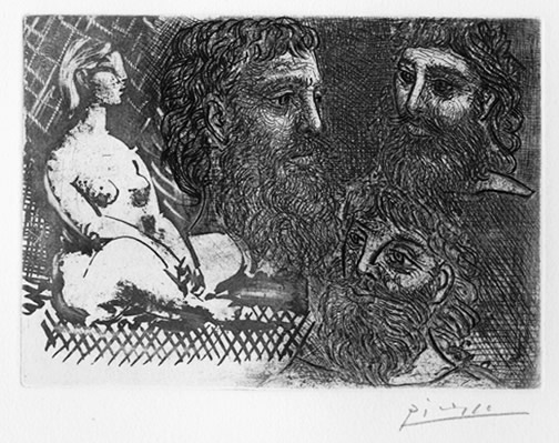 Pablo Picasso used a sugar life aquatint technique in his Vollard Suite- Matthews Gallery Blog