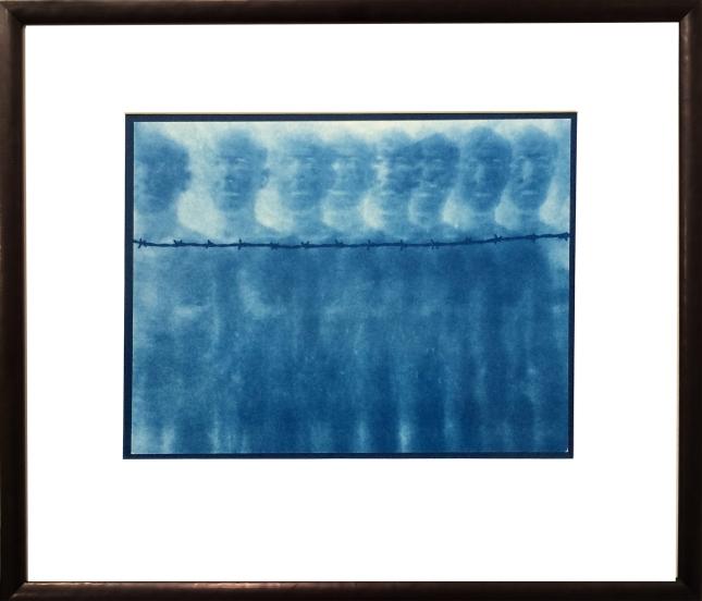 Jan van Leeuwen- Barbed Wire Number 1- Matthews Gallery Blog
