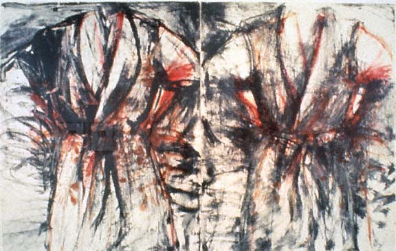 Jim Dine- Robe Diptych- Matthews Gallery Blog