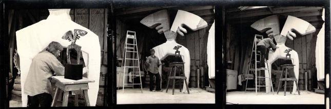 Hannah Holliday Stewart- Artist Process 1- Matthews Gallery