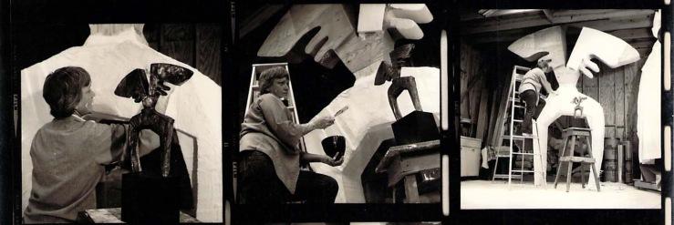 Hannah Holliday Stewart- Artist Process 2- Matthews Gallery