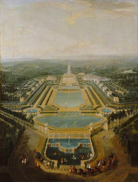 Chateau de Marly- Site of artwork by Jean-Baptiste Monnoyer-  Matthews Gallery Blog
