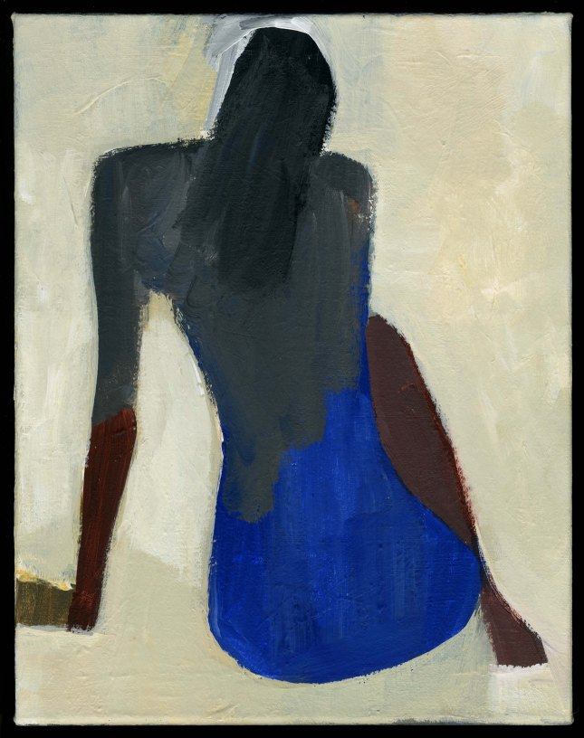 Jamie Chase- Back in Blue- Matthews Gallery