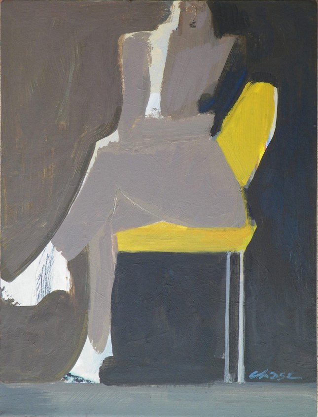 Jamie Chase- Yellow Chair- Matthews Gallery