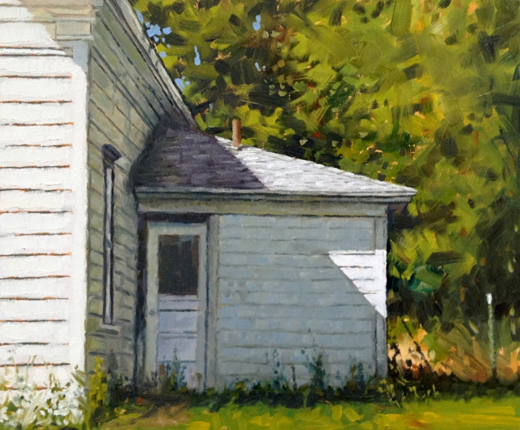 Eric G. Thompson- Back Door- Matthews Gallery blog