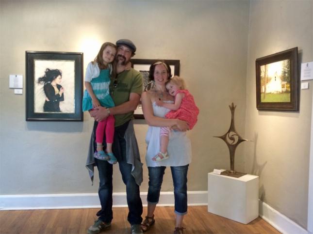 Eric-Thompson-Artist-Family