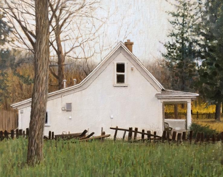 Eric G. Thompson- Spring City House- Matthews Gallery blog