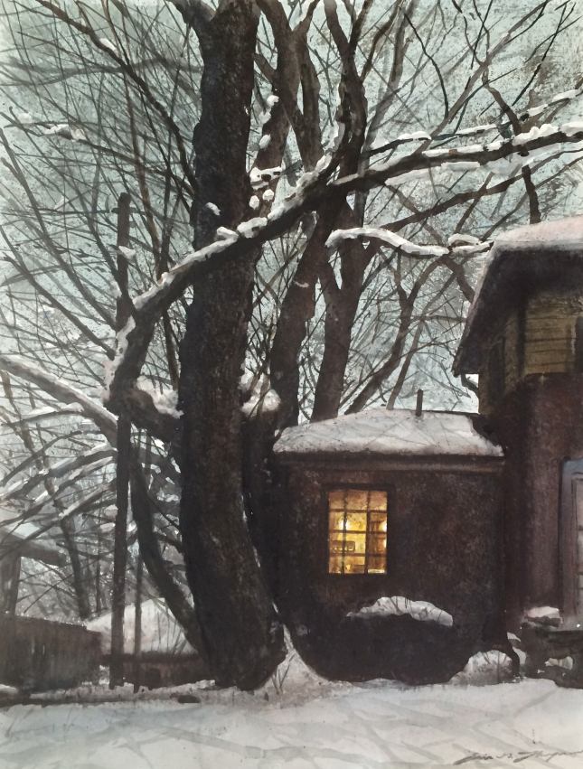 Eric G. Thompson- Winter Blanket- Matthews Gallery blog