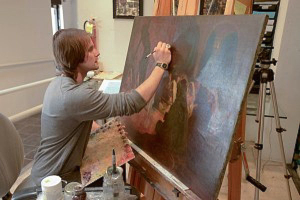 Matt Horowitz- Art Conservator- Goldleaf Framemakers of Santa Fe