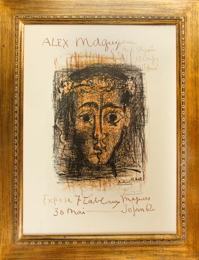 Pablo Picasso- Alex Maguy Gallery- Matthews Gallery blog