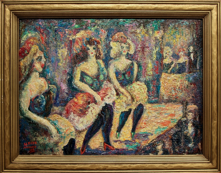 Alfred Morang- Dancers at Midnight- Matthews Gallery Blog