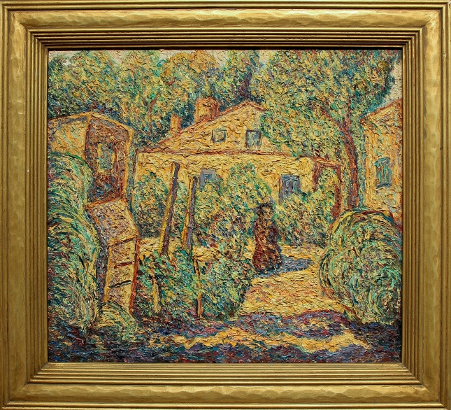Alfred Morang- Gormley Lane Santa Fe- Matthews Gallery Blog