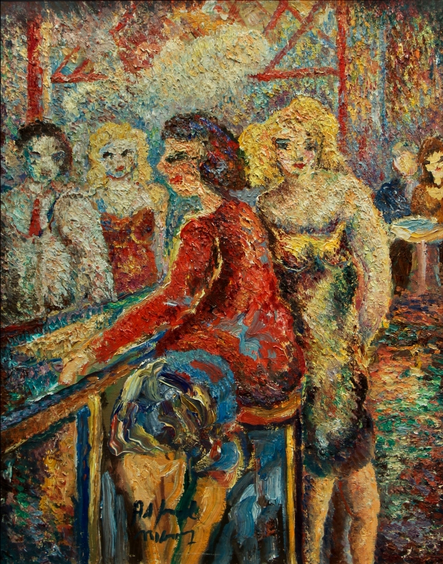Alfred Morang- The Women at Claude's- Matthews Gallery Blog