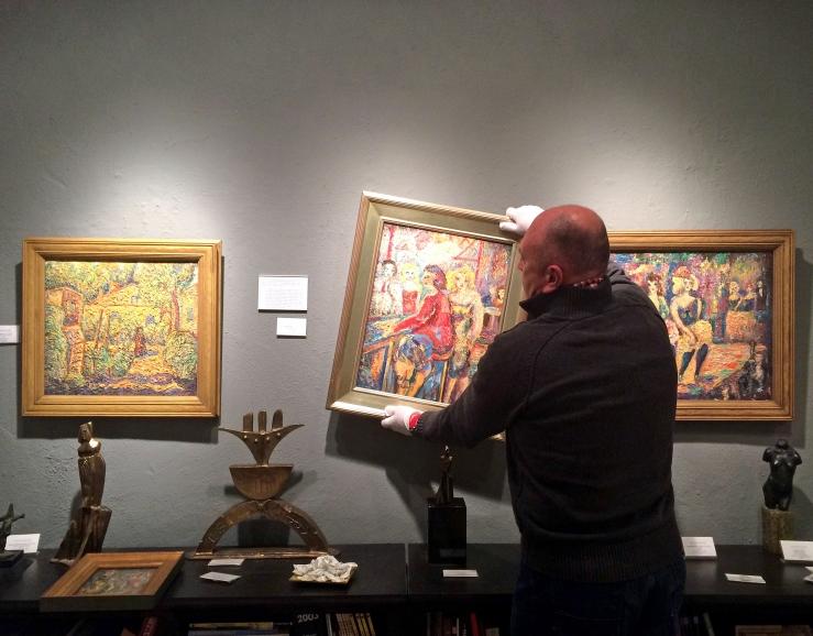 Alfred Morang Art Exhibition- Matthews Gallery Blog
