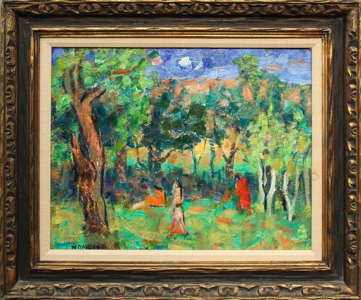 Gerrit Hondius- Untitled Modernist Landscape- Matthews Gallery Blog
