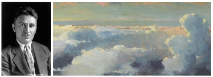 Wiley Post- Mentor to Artist Eric Sloane- Matthews Gallery Blog
