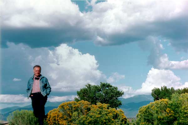 Artist Eric Sloane under a New Mexico Sky- Matthews Gallery Blog